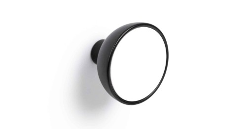 Knob BOL 45 black/white