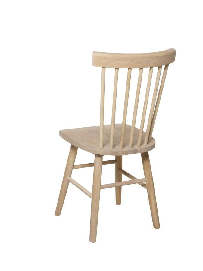 SCAND  Ąžuolinė balinta kėdė