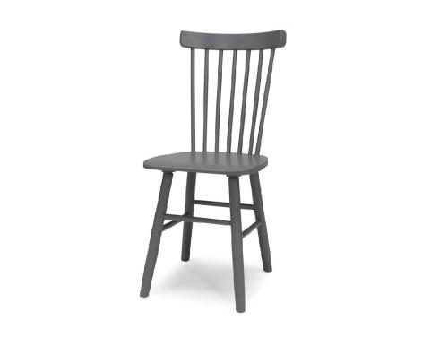 Beržinė kėdė dažyta SCAND - BPG pilka