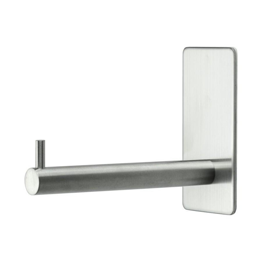 WC popieriaus laikiklis  BASE 200 606027  mat. chromas , priklijuojamas
