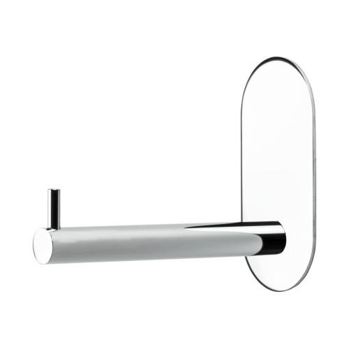WC popieriaus laikiklis  BASE 100   606021  pol. chromas , priklijuojamas