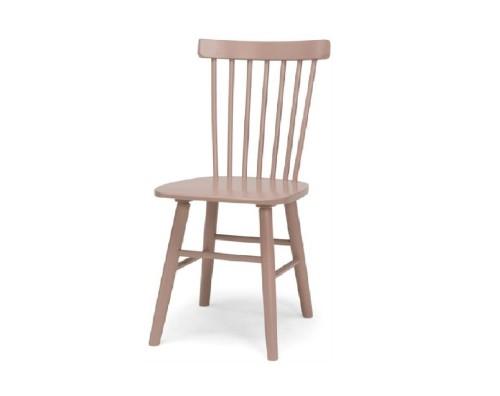 Beržinė kėdė dažyta SCAND - BPP rožinė